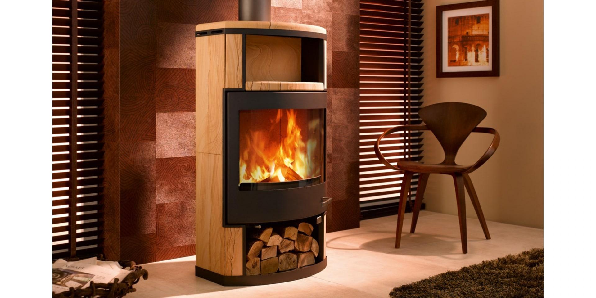 po le a bois skantherm ator flammes du monde. Black Bedroom Furniture Sets. Home Design Ideas