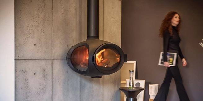 Nouveauté de Wanders : le poêle à bois Mata au design unique
