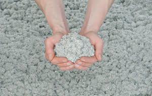 Ouate de cellulose en journal recyclé